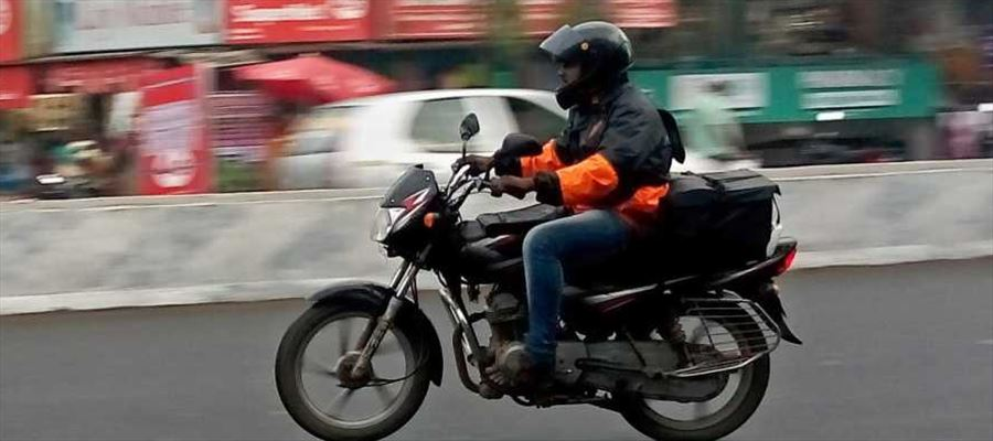 Food Apps staff warned for violating Traffic Rules