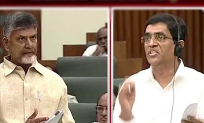 AP Opposition Leader & FM had heated argument about WB funding
