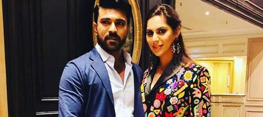 Ram Charan been welcomed by his Wife to join Instagram