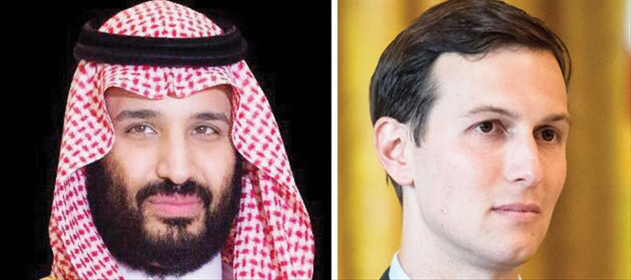 Trump's Son in Law had private conversations with Saudi Crown Prince