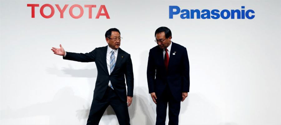 Toyota makes Joint Venture with Panasonic