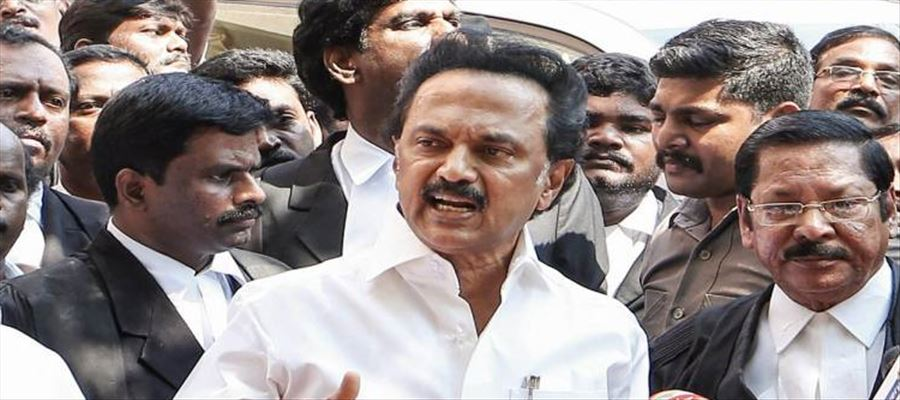 TN DMK Party contributes 1 crore towards Cyclone relief activities