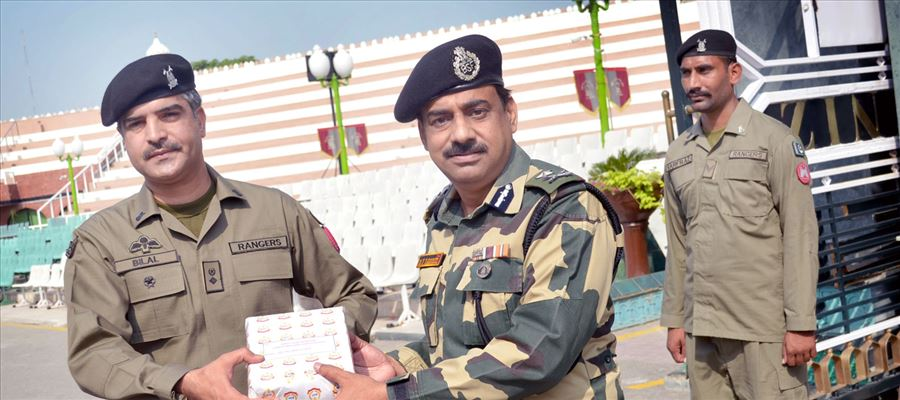 India, Pakistan exchanged sweets on occasion of Eid al-Adha & India's 72nd Independence Day