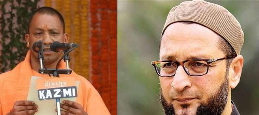 Owaisi attacked Yogi Adithyanath for campaigning in Telangana