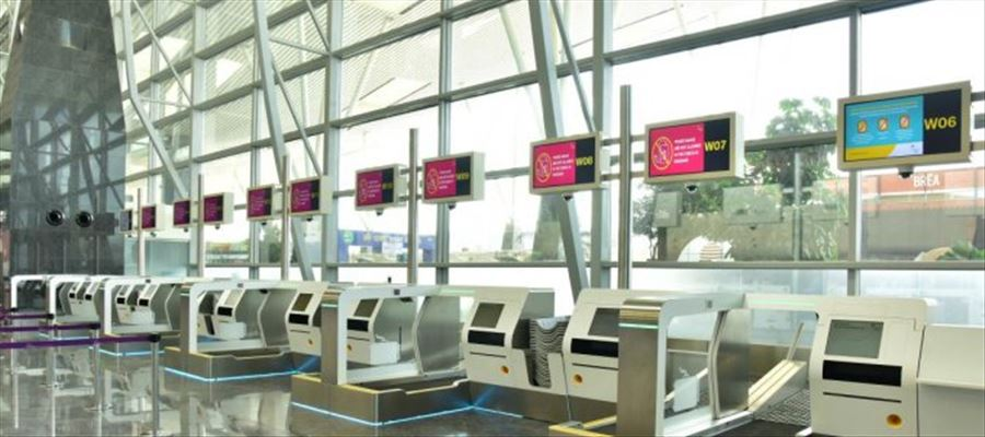 Automated baggage check-in facility introduced for passengers in Bengaluru Airport