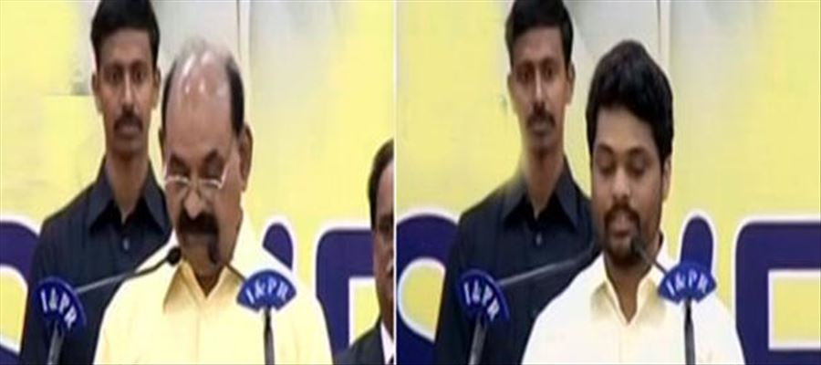 AP CM Chandrababu Naidu expands his Cabinet with 2 Ministers