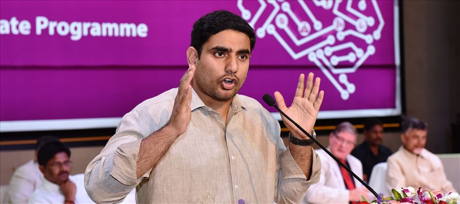 When Lokesh Greeted Jagan with Folded Hands