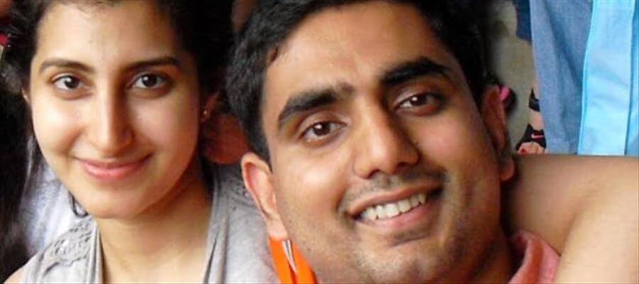 Nara Lokesh-Brahmani picture went viral on social media within no time