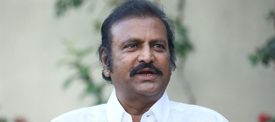Actor Mohan Babu in support of TRS Party