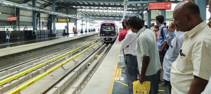 Pilot phase be implemented at two Metro stations by October by Bengaluru