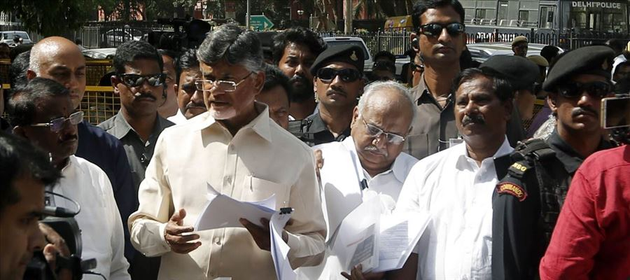 Chandrababu To Campaign Against BJP in Other States