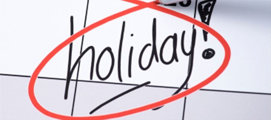 Here's the List of Public Holidays in 2019