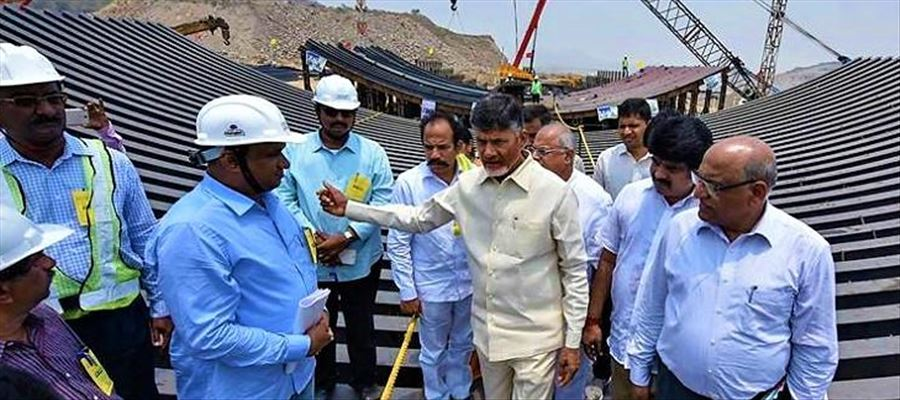 Polavaram Diaphragm wall is not done