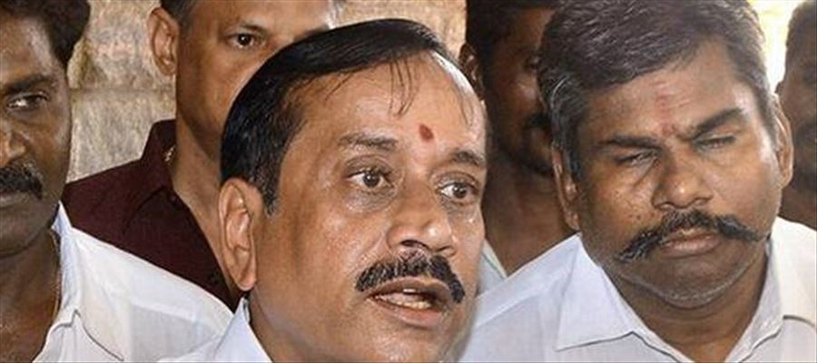 H Raja angry on Idol theft!