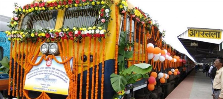 Railways executing 43 projects at cost of Rs 9,000 crore to extend rail connectivity in northeast India