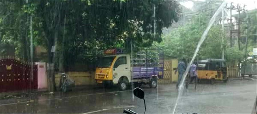 Tamil Nadu to get heavy showers and thunder storms
