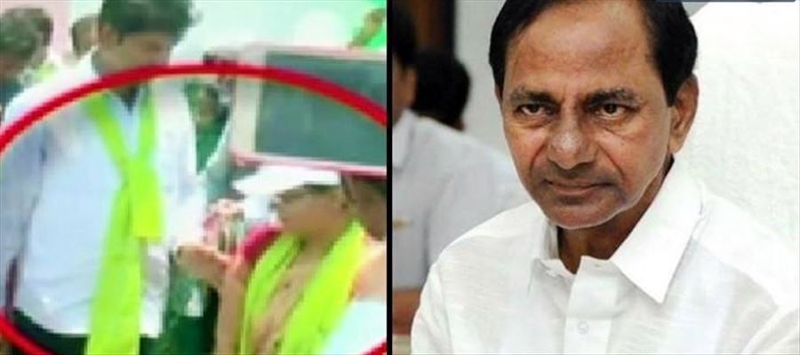 KCR warned Shankar Naik that he could be suspended, apologizes to Woman Collector