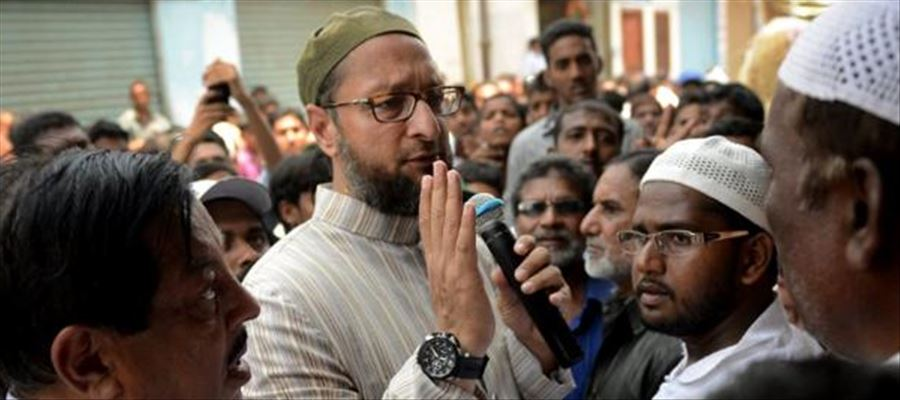 AIMIM Chief seeks vote in favor of TRS Party