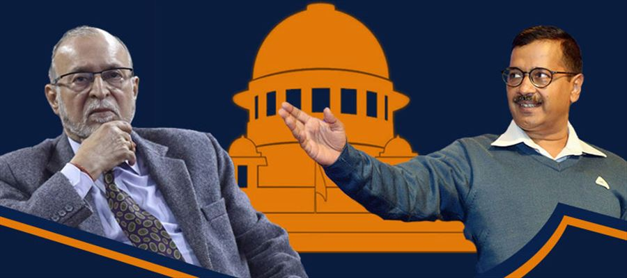 SCs judgment ruled in favor of Delhi state government against Lieutenant Governor
