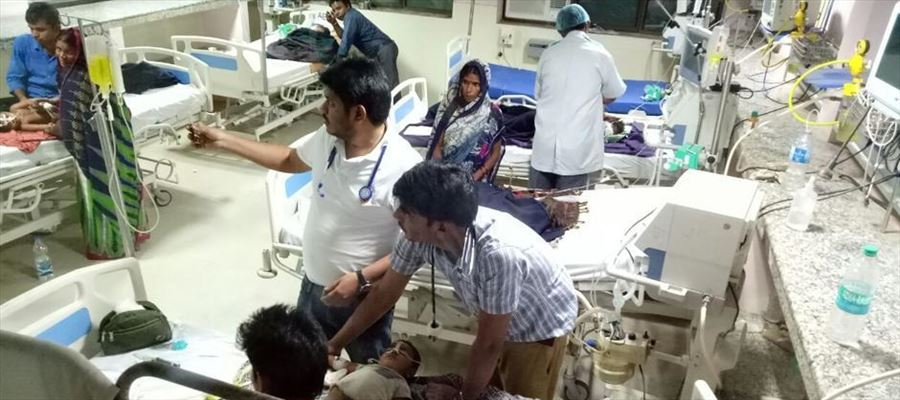 Why Oxygen supply disrupted in UP Hospital??