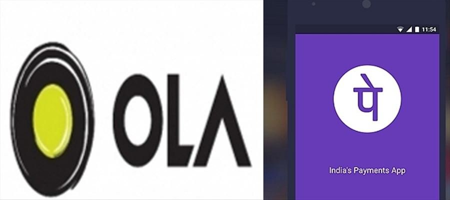 PhonePe booked for partnership with Ola