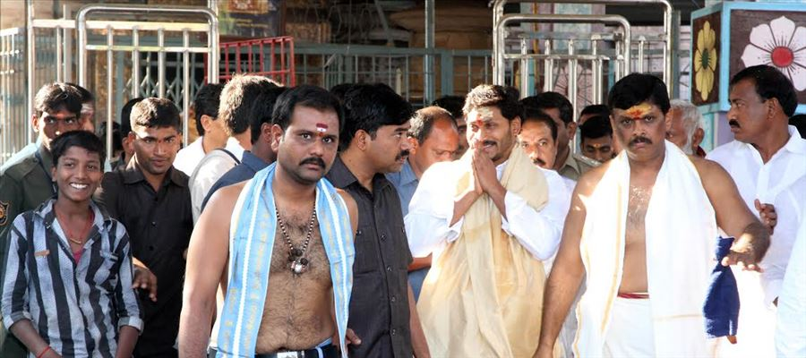 Why YS Jagan refused to sign declaration at Tirupathi??