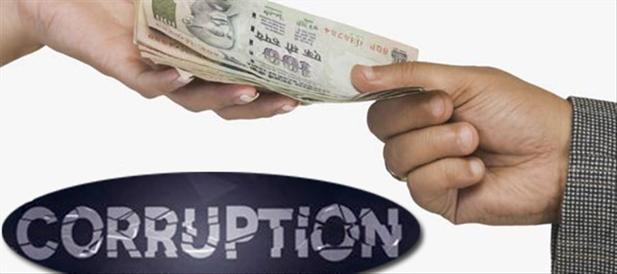 Neighboring states of Tamilnadu and Telangana have taken over the Andhra Pradesh in corruption
