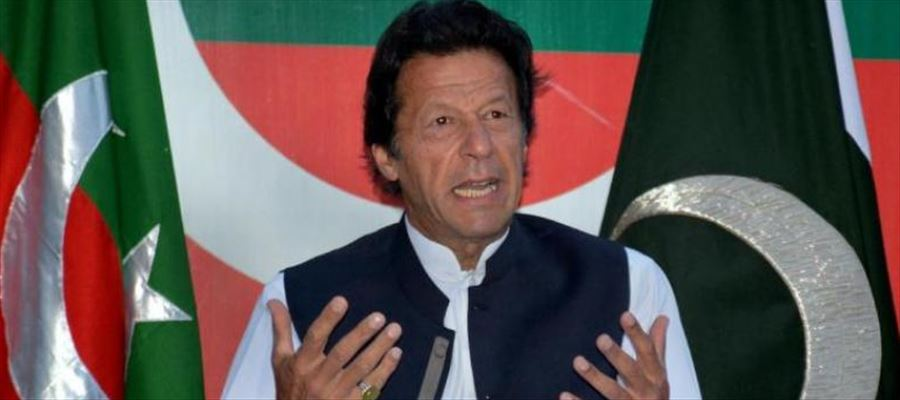 """Pakistan PM Imran Khan described ISI as """"our first line of defense"""""""