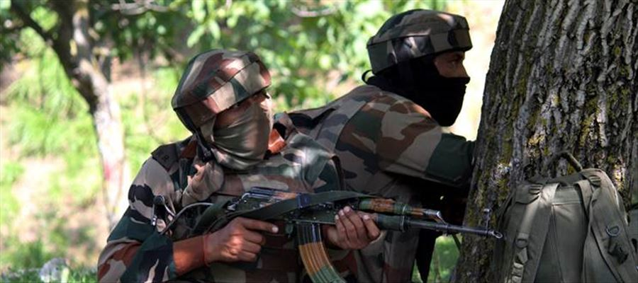 Terrorists killed in early morning encounter!