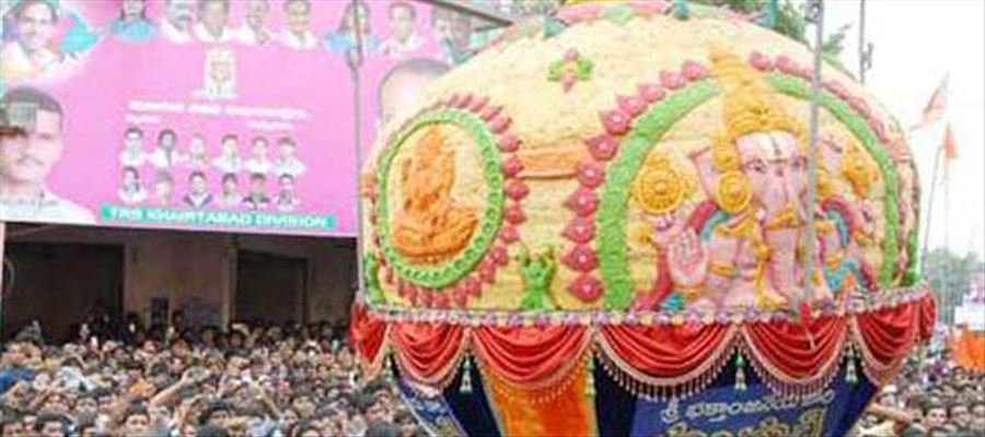 Balapur Laddu sets a new Record as it fetches Rs.16.6 Lakhs in Auction!
