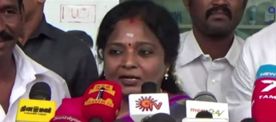 Tamil Nadu can get Cauvery water only if BJP rules - Tamilisai Soundarrajan