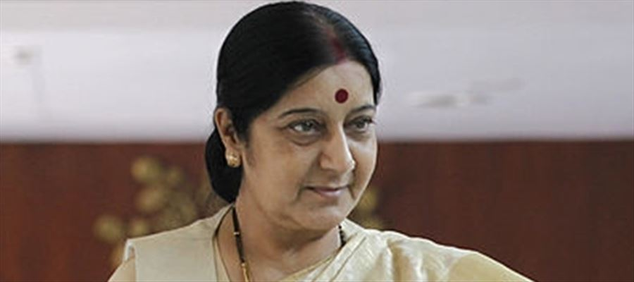 Sushma Swaraj gets praises and compliments on the Social media