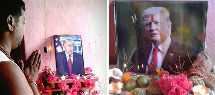 This Telangana Farmer considers Donald Trump as his God