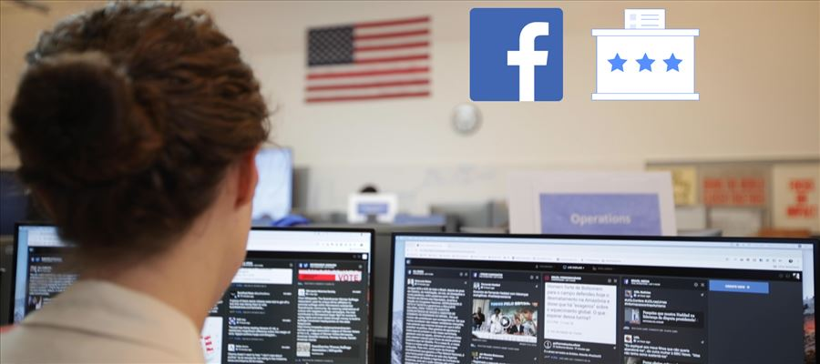 Facebook sets a War Room to reduce spreadability of potentially harmful content
