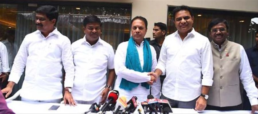 TRS party gets a new member from Congress