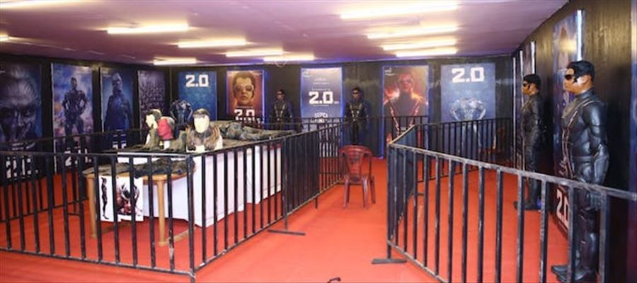 2.0 s costumes, Robot Models exhibited at Chennai Island Grounds