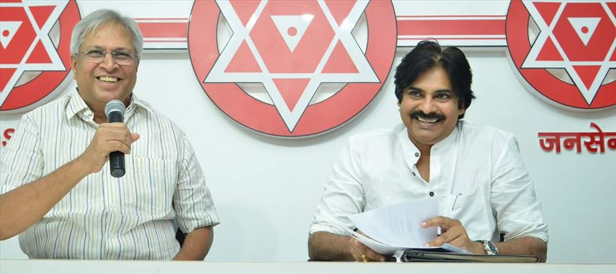 Will Vundavalli join Janasena Party is the big question?