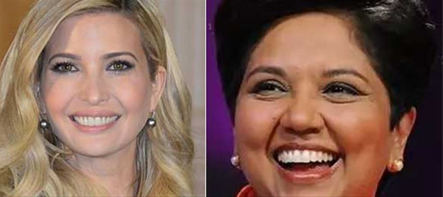 Indra Nooyi been courted as an administration ally by Ivanka Trump