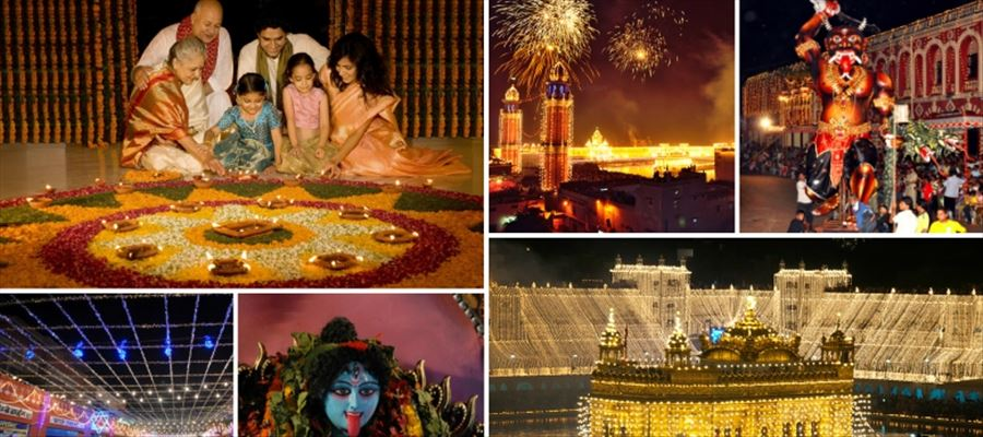 Why is Diwali celebrated in India?