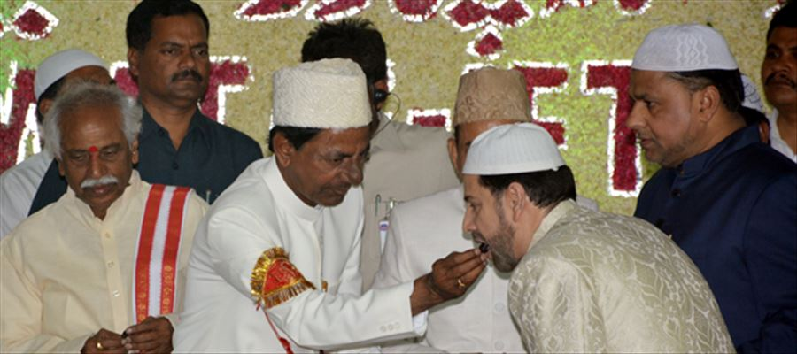 Telangana government decided to present Ramzan gifts to poor Muslim families