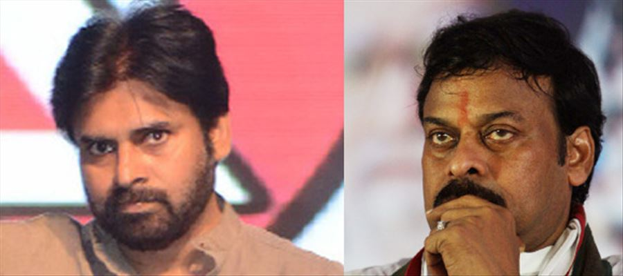 Is there a clash between Chiranjeevi and Pawan Kalyan?