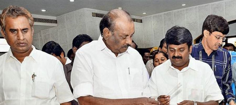 Two Tamilnadu ministers facing charges of corruption in separate cases
