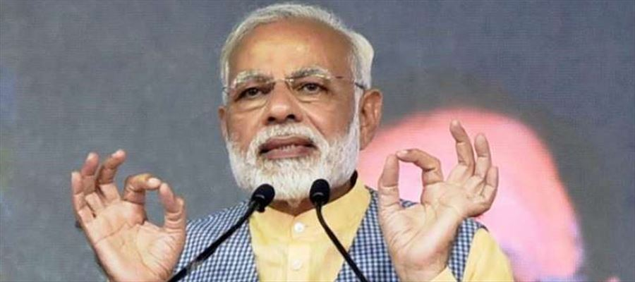 """PM Narendra Modi termed Karnataka assembly poll results an """"unparalleled and unprecedented win"""""""