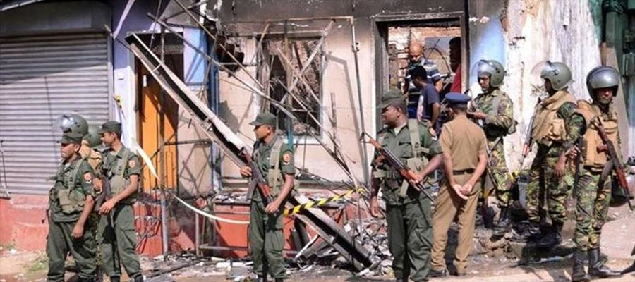Violence erupted in Srilanka, police imposed curfew in Theldeniya area