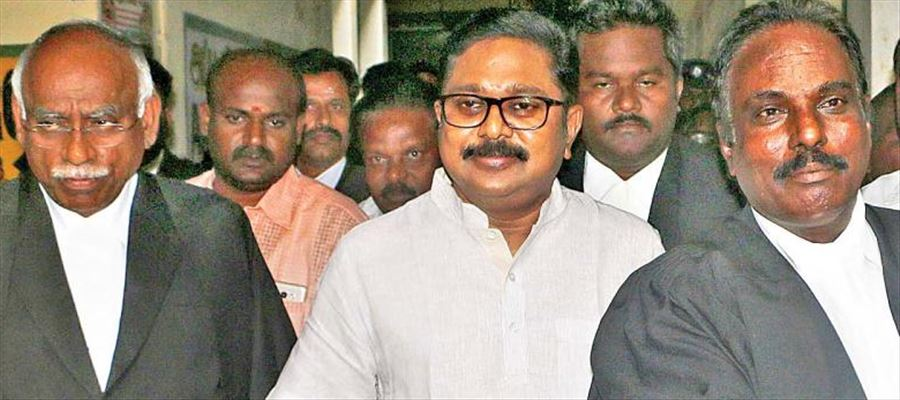 Did TTV Dinakaran appeared before Court in defamation case?
