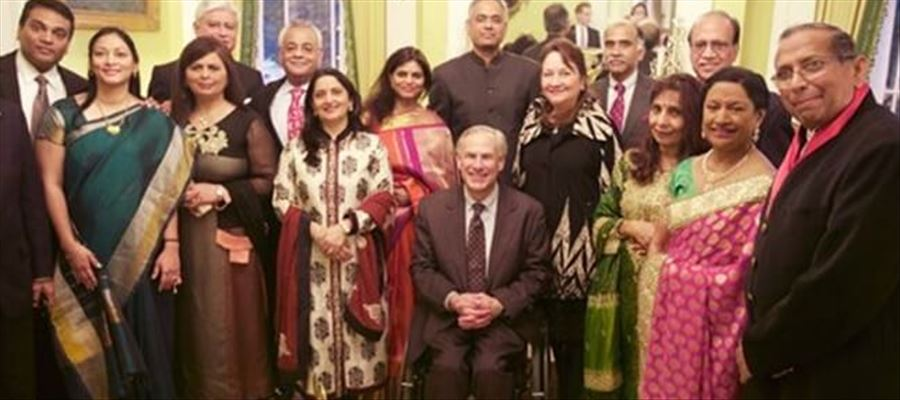 Texas Governor hosted Diwali Celebrations in his residence