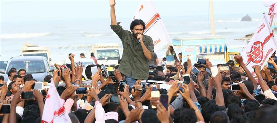 Is Janasena Party fans in support of YSRCP?
