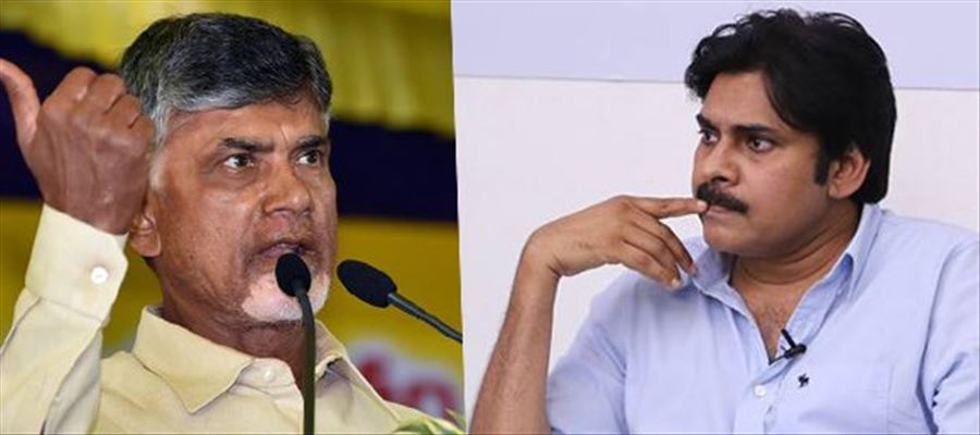 Pawan verbally owing to orders from TDP supreme Chandrababu