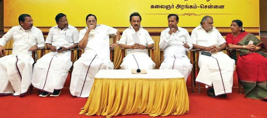 DMK's poll manifesto to release in another one or two days: Mr. Stalin