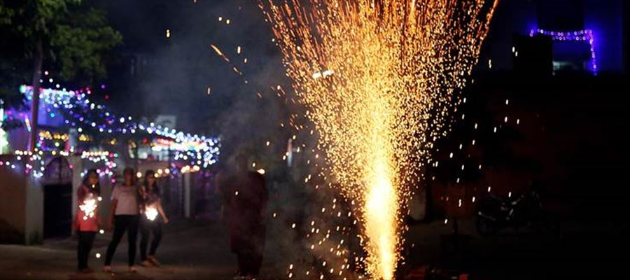 Southern States permitted to burst crackers for 2 hours during Diwali